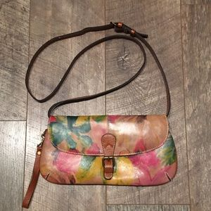 Patricia Nash Floral Crossbody Clutch Bag